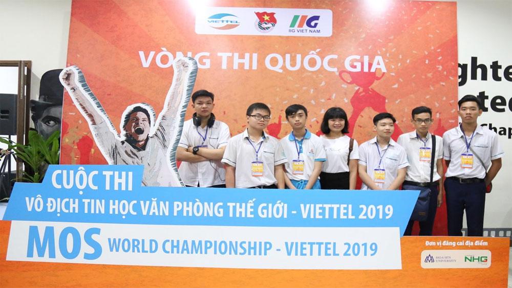 Tìm kiếm nhà vô địch Việt Nam và thế giới về tin học văn phòng